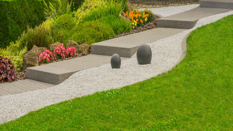 Benefits of Crushed Stone in Your Landscape Design